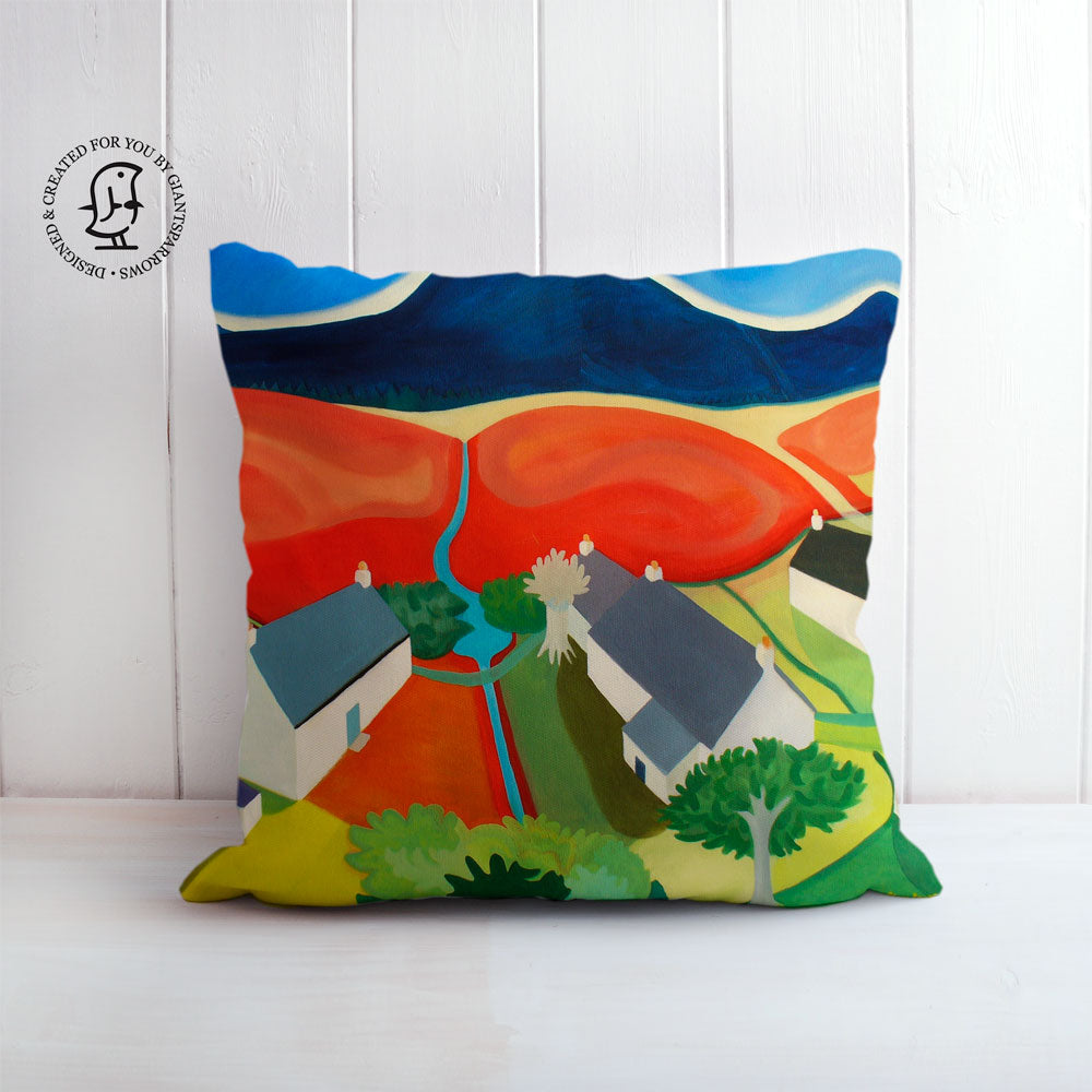 "Clare Galloway Design Cushion - ""High Corrie 2"""