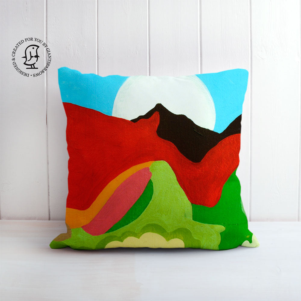 "Clare Galloway Design Cushion - ""The Holy Fell"""