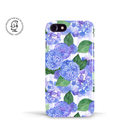 Tracey Coon 'Hydrangeas ' Phone Case