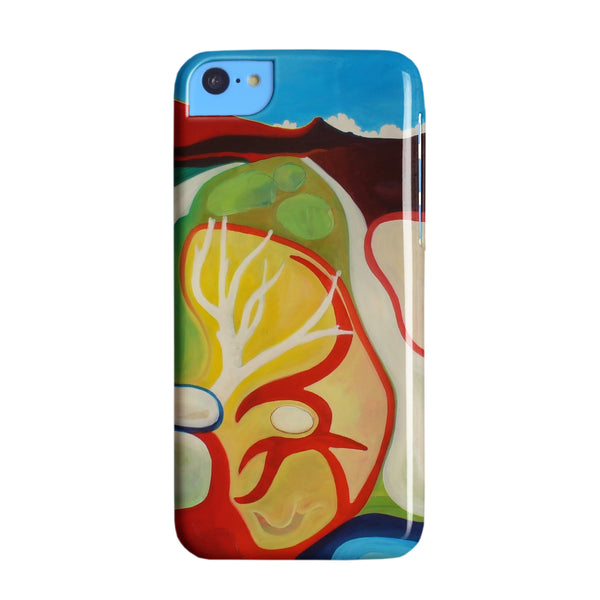 Clare Galloway 'Mountain Path' iPhone 5C Phone case