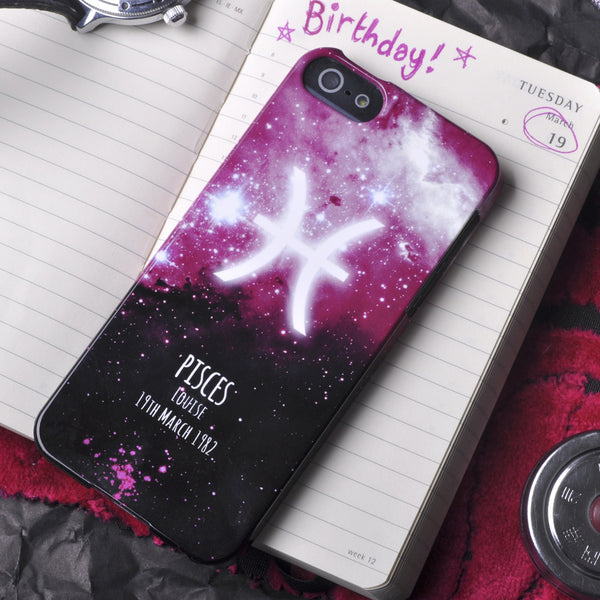 Personalised Star Signs iPhone case
