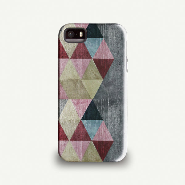 Sparrow Studios 'Coloured Triangles' Phone case