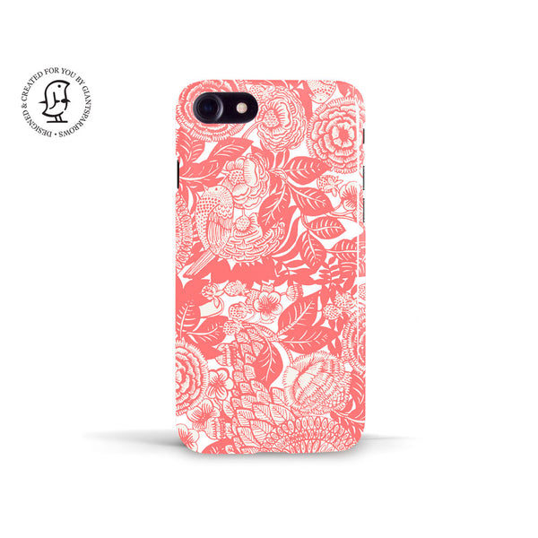 Anja Jane Pink Phone Case 'Between Strawberry Fields''