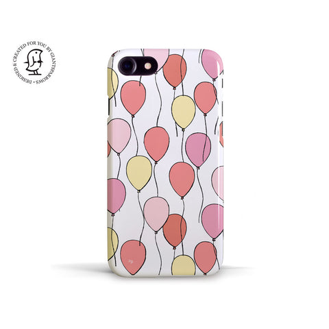 "Martina Pavlová Illustrated Phone Case ""Balloons"""