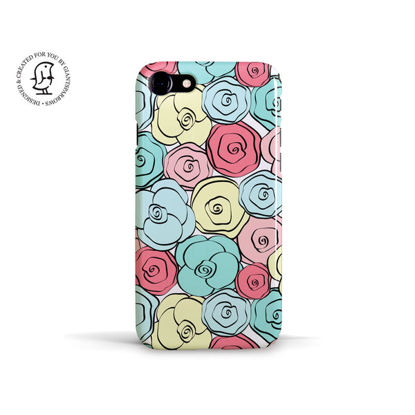 "Martina Pavlová Illustrated Case ""Flower Power"""