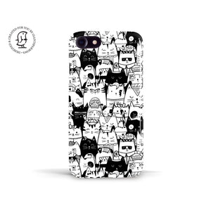 Tracey Coon 'Kitty Committee' Phone Case