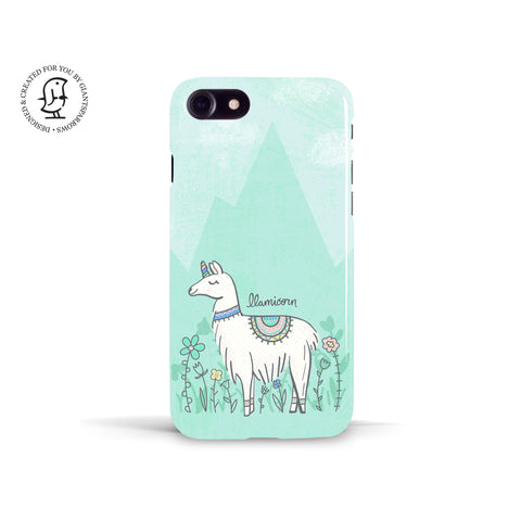 Tracey Coon 'Llamicorn' Phone Case