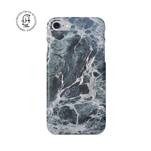 Marble Stone Blue/Grey/White Design Case