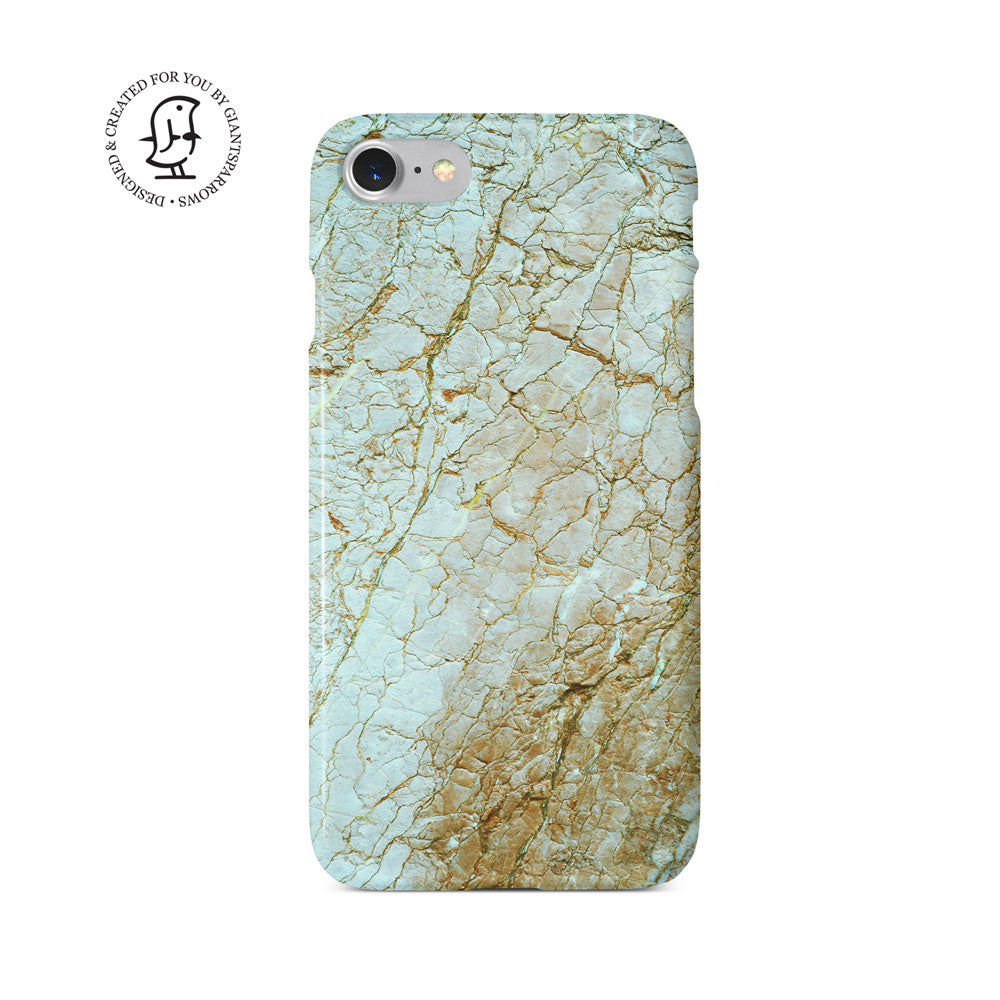 Marble Stone Green/Brown Design Case