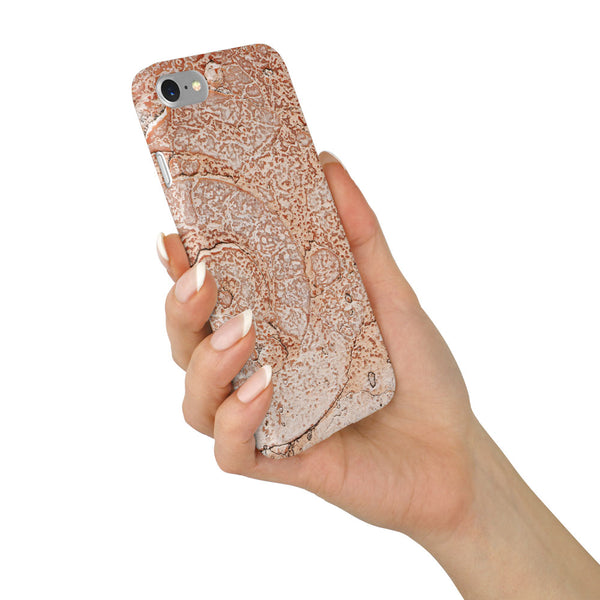 Marble Stone Brown Design Case