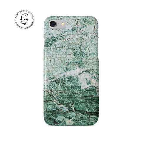 Marble Stone Green & White Design Case