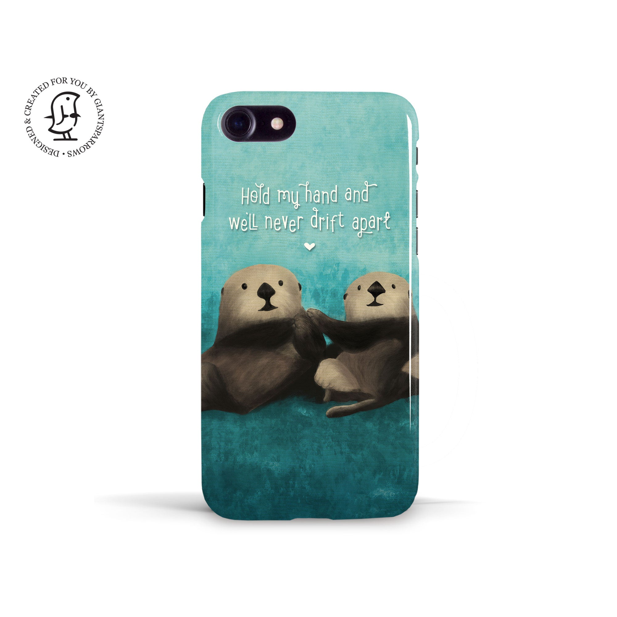 Tracey Coon 'Otters' Phone Case