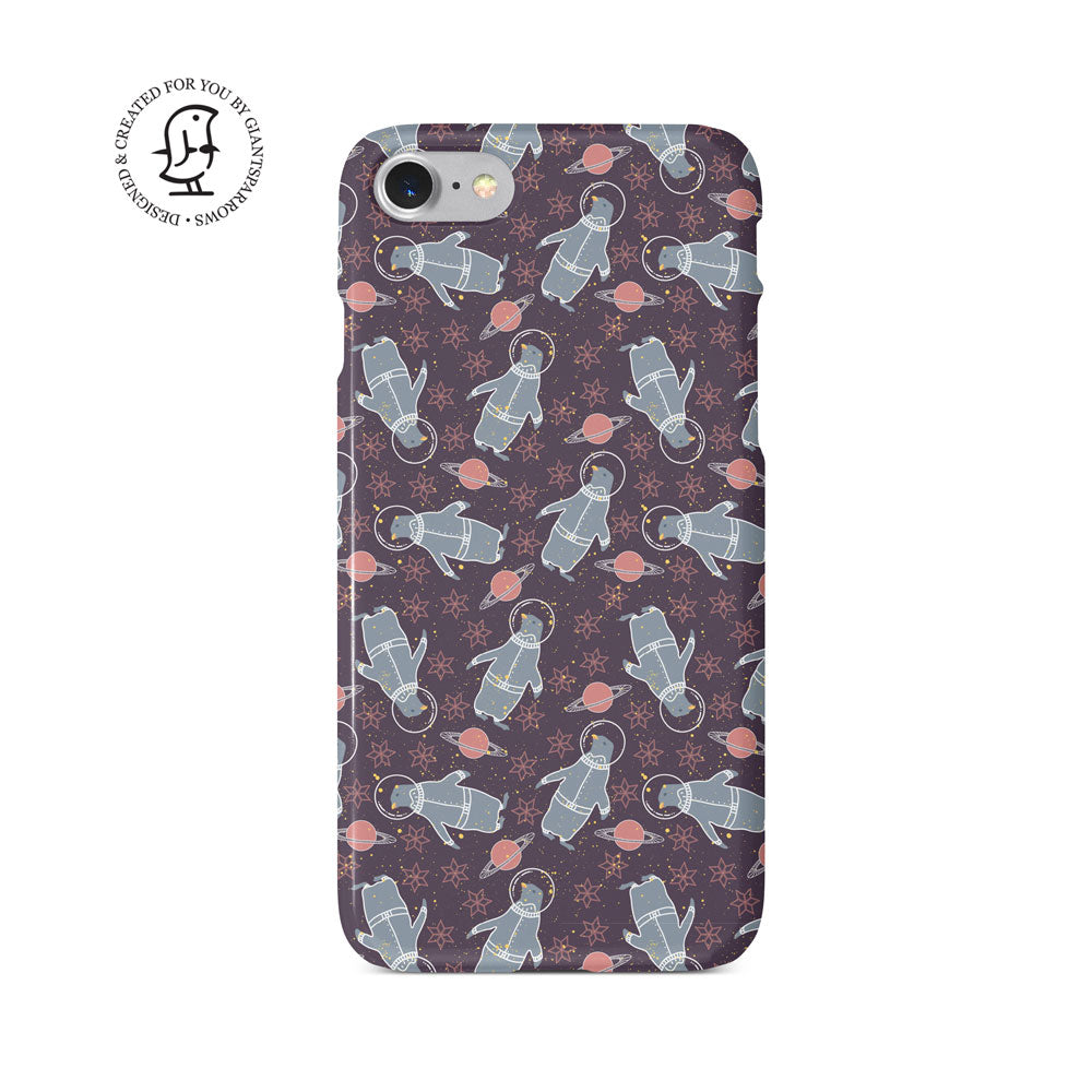"""Penguins"" Arctic Space Collection Phone Case"