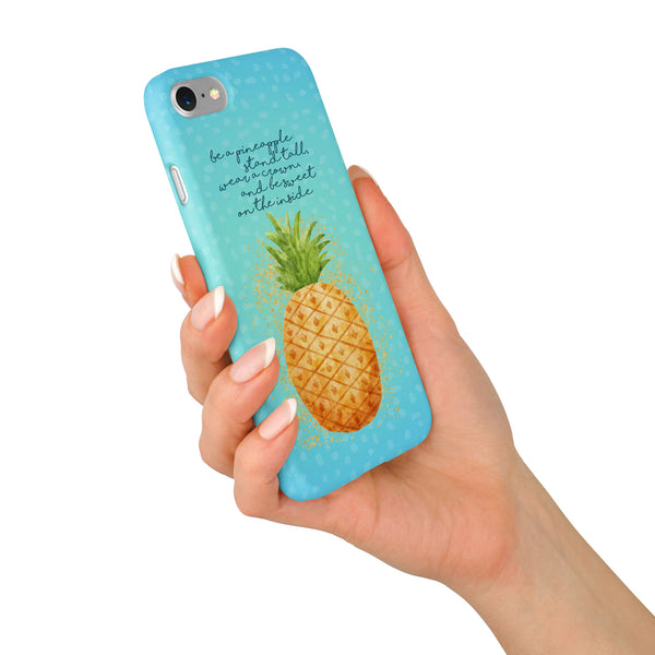 Tracey Coon 'Pineapple' Phone Case