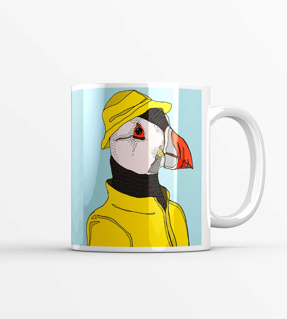Puffin in a Mac Mug
