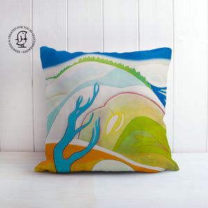 "Clare Galloway Design Cushion - ""Winter in the Glen"""