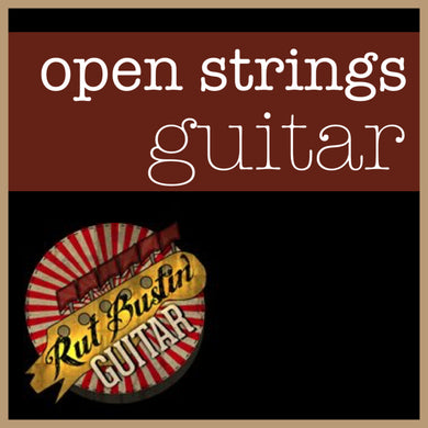 Open Strings Guitar - DOWNLOAD