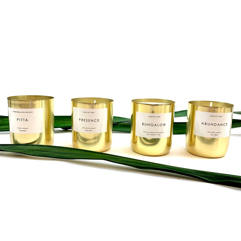Ayurveda Apothecary Candles 8 oz