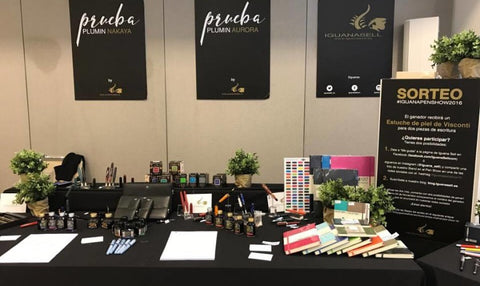 Iguana Sell Madrid Pen Show 2016