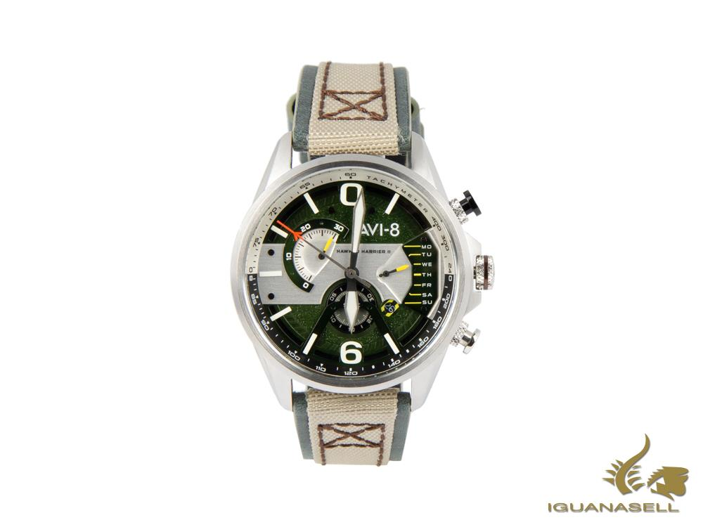 Reloj de Cuarzo AVI-8 Hawker Harrier II Dual Retrograde Edition, AV-4056-02