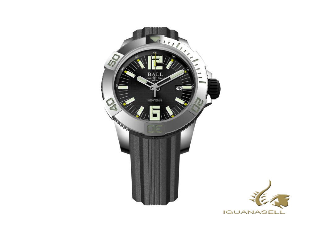 Reloj Automático Ball Engineer Hydrocarbon DeepQUEST, 42 mm, DM3002A-PC-BK