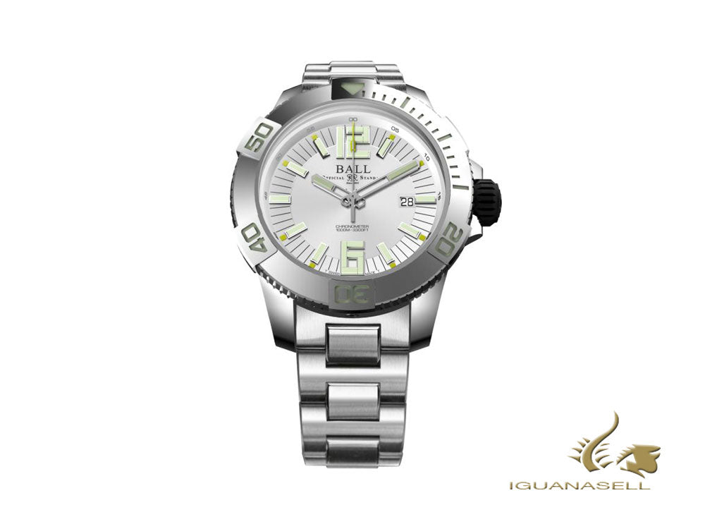 Reloj Automático Ball Engineer Hydrocarbon DeepQUEST, 42 mm, DM3002A-SC-WH