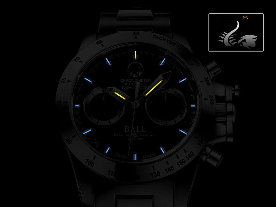 Reloj  Ball Engineer Hydrocarbon Magnate Chronograph, Acero inoxidable