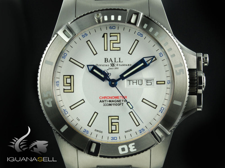 Reloj Ball Engineer Hydrocarbon Spacemaster, COSC, DM2036A-SCAJ-WH