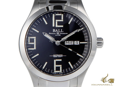 Reloj Automático Ball Engineer II Genesis, Ball RR1102, Negro, 43mm, Brazalete