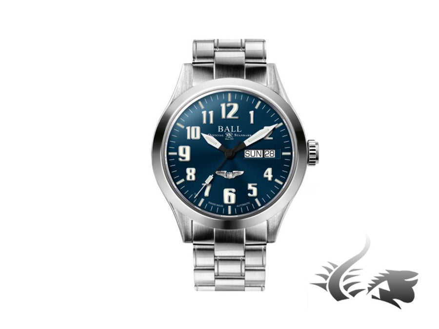 Reloj Automático Ball Engineer III Silver Star, Ball RR1102, Azul, 40mm