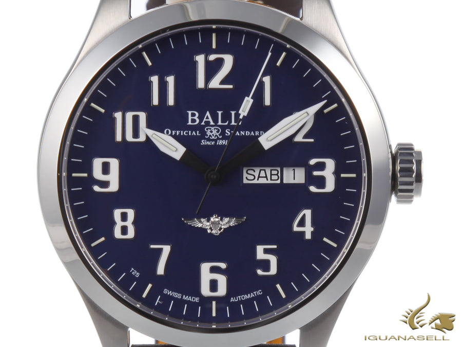 Reloj Automático Ball Engineer III Silver Star, Ball RR1102, Azul, 46mm