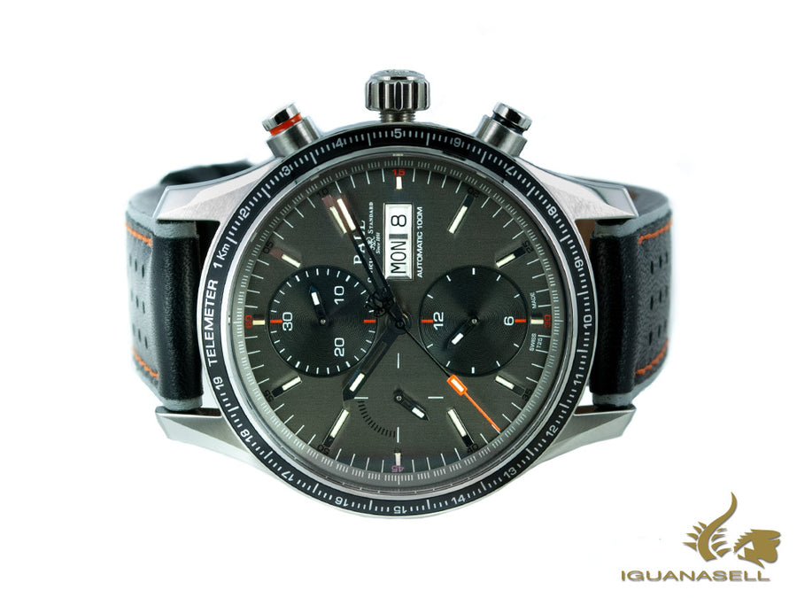 Reloj Ball Fireman Storm Chaser Pro, Acero inoxidable, Cronógrafo, Gris