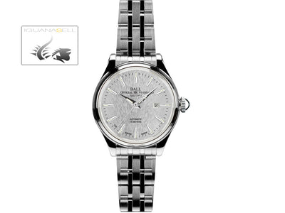 Reloj Ball Trainmaster Eternity Ladies, Ball RR1104, Plata, Brazalete de acero