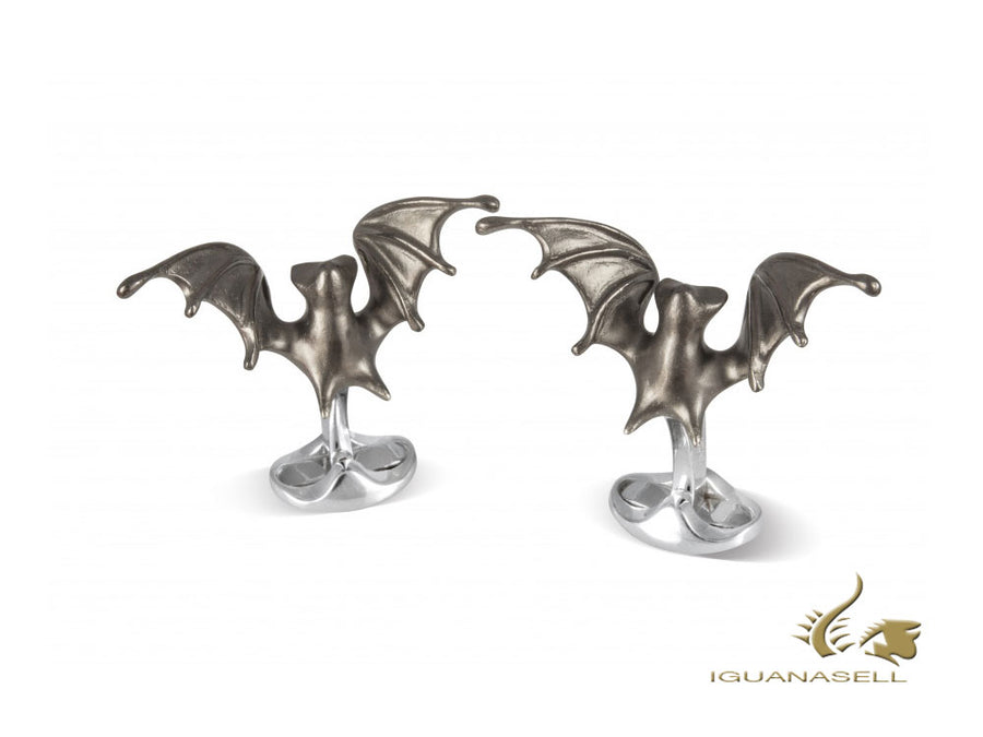"Gemelos Deakin & Francis Dare to wear ""Creepy Bat"", Plata Esterlina, C1903X0002"