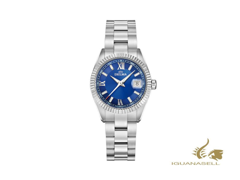 Reloj de Cuarzo Delma Diver Ladies Sea Star, Azul, 29mm, 41701.621.1.046