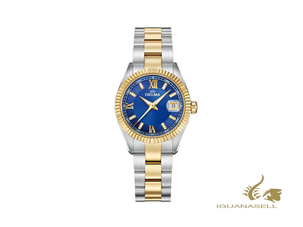 Reloj de Cuarzo Delma Diver Ladies Sea Star, Azul, 29mm, 52701.621.1.046