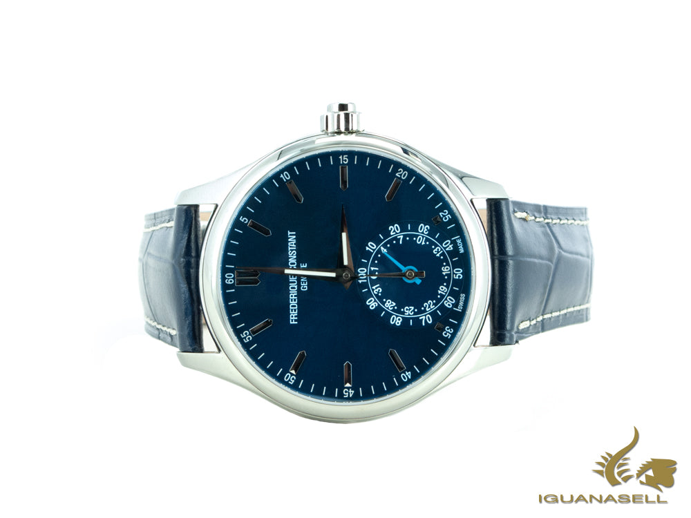 Frederique Constant Horological Smartwatch, Azul, GMT, Alarma, FC-285NS5B6
