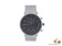 Reloj de Cuarzo Junghans Form C Chronoscope, J645.85, 40 mm, Antracita