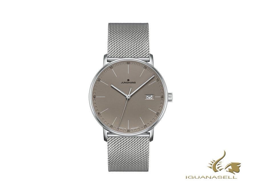 Reloj de Cuarzo Junghans Form Quarz, J645.37, 39,3mm, Marrón, 041/4886.44