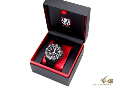 Reloj de cuarzo Luminox Air F-117 Nighthawk, 44mm, 20 atm, PVD, Negro, XA.6421