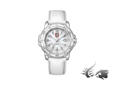 Reloj de Quarzo Luminox Sea Modern Mariner 38MM, Blanco, XS.7257