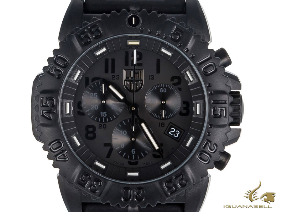 Reloj de cuarzo Luminox Sea Navy Seal , Carbono , Negro, XS.3082.BO