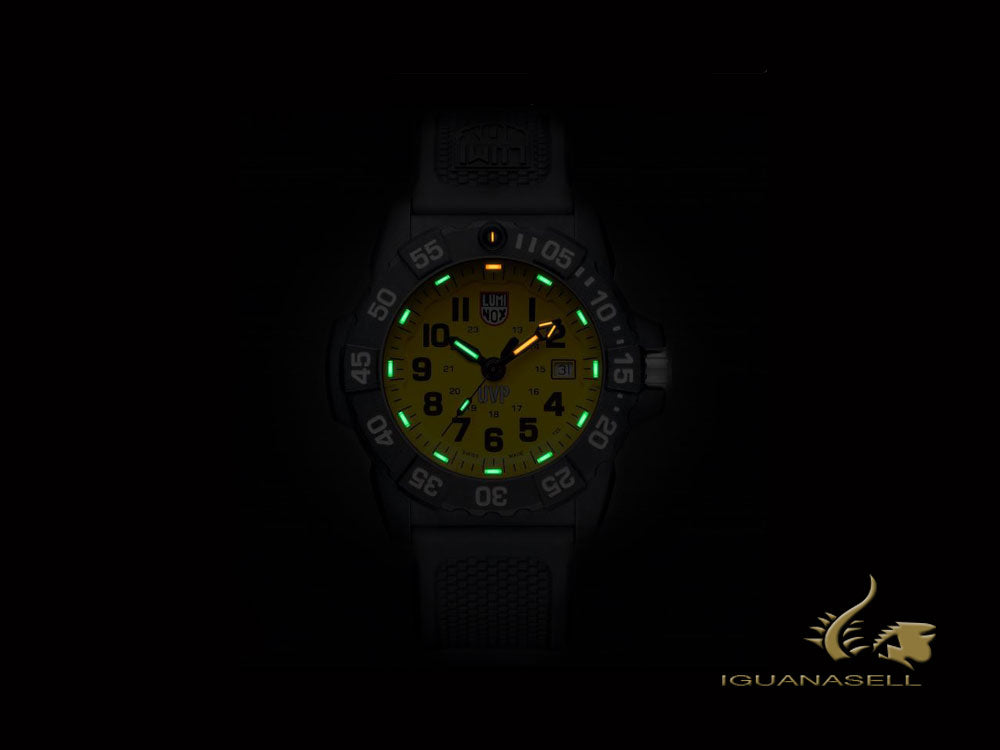Reloj de Cuarzo Luminox Sea Scott Cassell Set, Amarillo, XS.3505.SC.SET