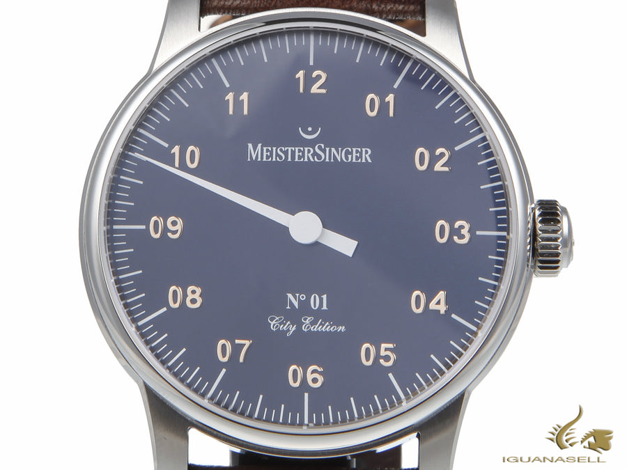 "Reloj Manual Meistersinger N1 City Edition ""Madrid"", Edición Limitada"