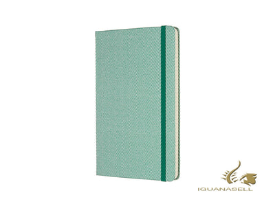 Libreta de notas Moleskine Edición Limitada Blend Collection, Rayado, Verde