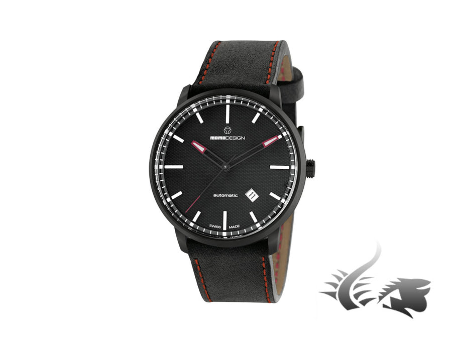 Reloj Momo Design Essenziale Automatic, ETA 2824, PVD, 42,5 mm, MD6004BK-12