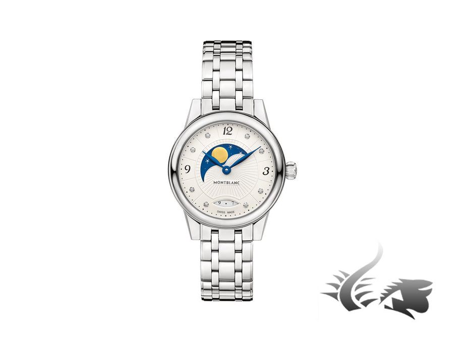 Reloj de cuarzo Montblanc Bohème Moonphase, MB 21.13, 27 mm, Diamantes, 111960