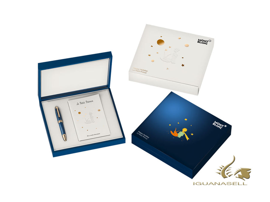 Set Montblanc Happy Holiday Meisterstück Le Petit Prince, Azul, 118837