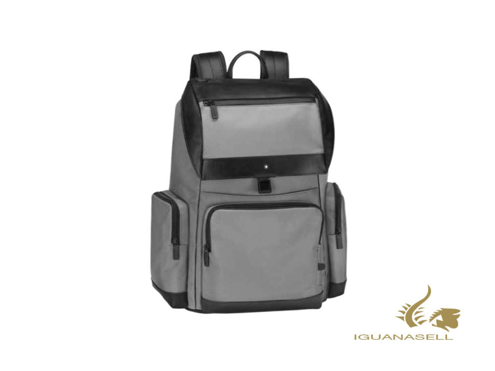 Mochila Montblanc 'My Montblanc Nightflight', Nylon, Gris, 126661