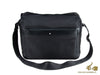 Messenger Montblanc Nightflight, Nylon, Negro, Cremallera, 118250